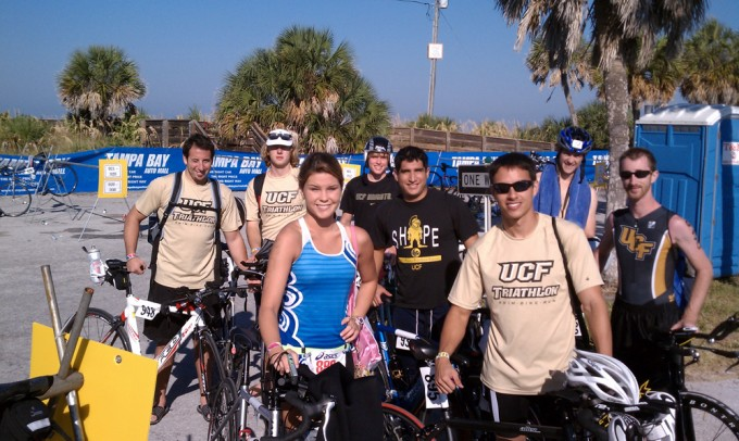 Tri-Knights at Suncoast Triathlon 2010